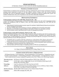 Technical Resumes Examples by Homey Idea It Support Resume 3 Unforgettable Technical Support