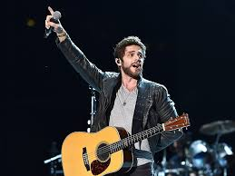 dierks bentley evelyn day bentley thomas rhett celebrates two no 1 songs people com