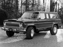 jeep chief truck 1975 jeep cherokee chief sj 4x4 truck classic wallpaper