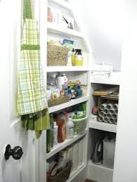 part 2 under the stairs linen closet organize 101 store this