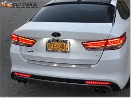 2013 kia optima lights vendor fs new 2016 2018 kia optima rear sequential bumper led