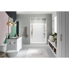 Sterling Shower Stalls Kits Showers The Home Depot Sterling Bathroom Fixtures