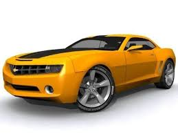model camaro chevrolet camaro 3d model realtime cgtrader