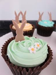 Easter Decorations On Cupcakes by Easter Cakes Victoria Sponge