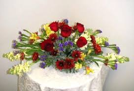 how about oval shaped thanksgiving flower arrangement california
