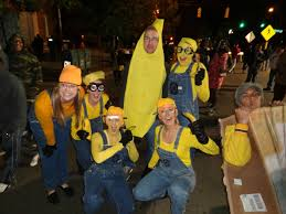 minions for halloween we found a banana for scale imgur