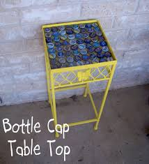 beer cap table top young texan mama bottle cap table top