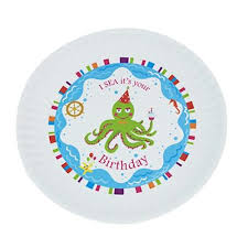 it s your special day plate birthday melamine plates i sea it s your birthday