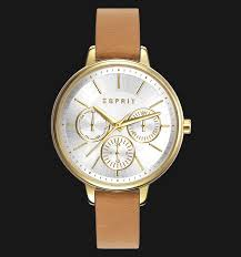 Jam Esprit esprit es108152004 melanie silver beige genuine leather band