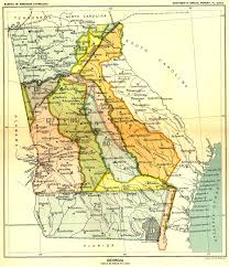 Map Of Florida And Georgia by Indian Land Cessions Maps And Treaties In The American Southeast