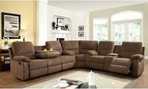 Reclining Sectional Sofas Stunning Sectional Sofa With Recliner Contemporary Liltigertoo