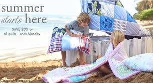 Pottery Barn Kids Quilts Pottery Barn Kids Coupon Save 20 On All Quilts Online Shopping
