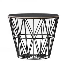 tissu ferm living wire l basket in colored metal wire ferm living