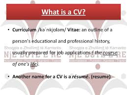 what is a resume name how to write a successful cv ppt download