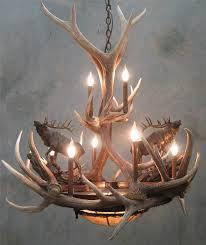 Deer Antler Light Fixtures L Lighting Antler L Deer Antler Ls Deer Antler