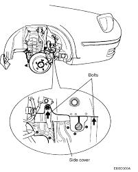 2001 hyundai santa fe alternator replacement how do you remove alternator on xg300 2001