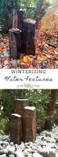 what you need to know to winterize your water feature garden therapy