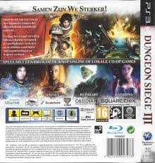 dungeon siege 3 ps3 dungeon siege iii for playstation 3 ps3 worldwide shipping fast