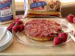 strawberry rhubarb upside down cake sundaysupper cindy u0027s recipes