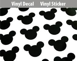 mickey mouse sticker etsy