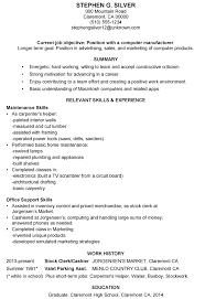 brief resume sample gallery creawizard com