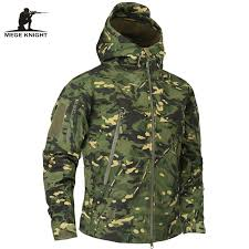 army pattern fleece mege brand clothing autumn men s military camouflage fleece jacket