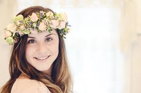 floral headdress how to make a floral headdress shirlie kemp