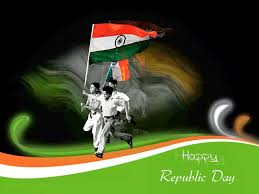 Green Day Flag Happy Republic Day 2017 Kids With Indian Flag Picture