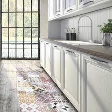 tapis cuisine design sol cuisine design cool une cuisine ouverte dlimite grce au sol
