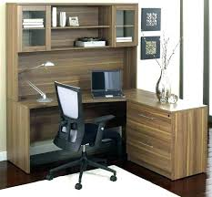 Corner L Shaped Office Desk With Hutch L Shaped Office Desk L Shaped