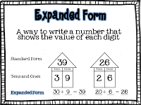 place value in expanded form 1st grade place value the brown bag