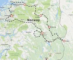Scandinavia Map The Best Of Norway Explore360 Motorcycle Adventures
