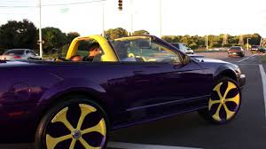 purple nissan rogue nissan rogue on starr wheels and candy purple mustang on davins