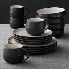 18th 16 dinnerware set crate and barrel