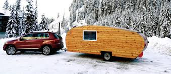 charming wood teardrop trailer is perfect for off grid eco