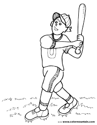 baseball homerun coloring page create a printout or activity
