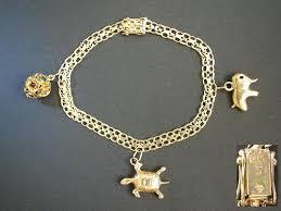gold bracelet pendant images Gold bracelet 10 karat gold charm bracelet jpg