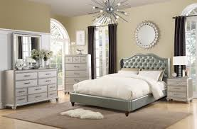 silver bed f9367 silver bed by poundex