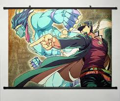 bizarre home decor amazon com jojo s bizarre adventure series home decor wall scroll