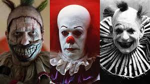 top creepy clowns birthday party anyone horror the 20 creepiest clowns in and tv news sbs