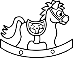 horse toy coloring wecoloringpage daycare coloring