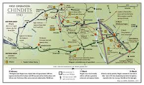 Irrawaddy River Map Operation Longcloth Map Hermes U0027 Wings