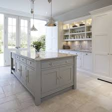 kitchen cabinets without handles transitional with white kitchen
