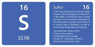 Sulfur On The Periodic Table Periodic Table U2013 Page 15 U2013 Joe U0027s Classes
