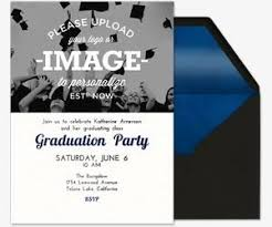 graduation invitations evite