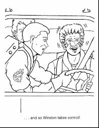 astounding superman coloring pages with ghostbusters coloring