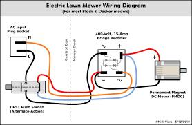 electric motor wiring diagram riding bike