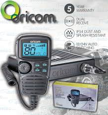 oricom dtx4200 5w 80ch uhf cb radio mobile remote lcd mic dual