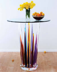 Acrylic Bar Table Rock Bar Table By Hstudio Furniture Design Museum Of