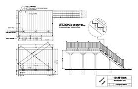 deck plans building deck free deck design plans